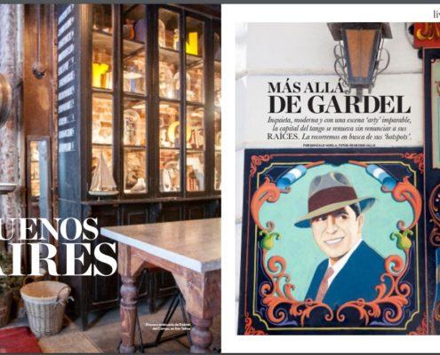 Parrilla La Cabrera en las mejores revistas del mundo