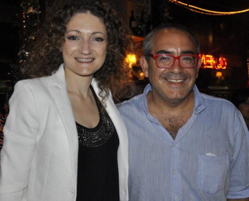 Karla Johen, sommelier, visitó La Cabrera, la mejor parrilla argentina.